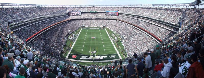 NY JETS Football Game: Tailgate Party & Go On Field!