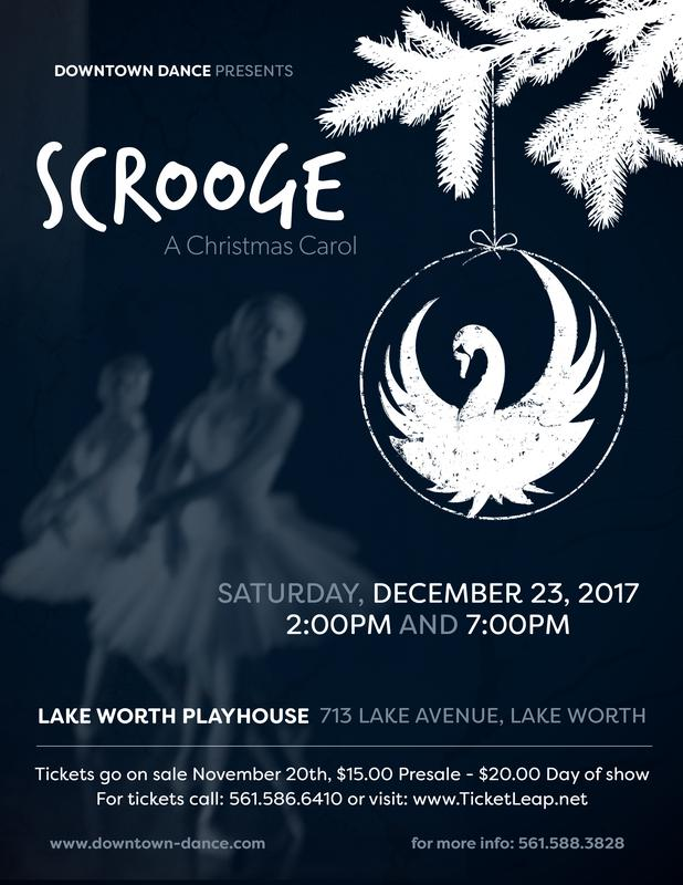 DOWNTOWN DANCE presents...Scrooge...A Chrstmas Carol