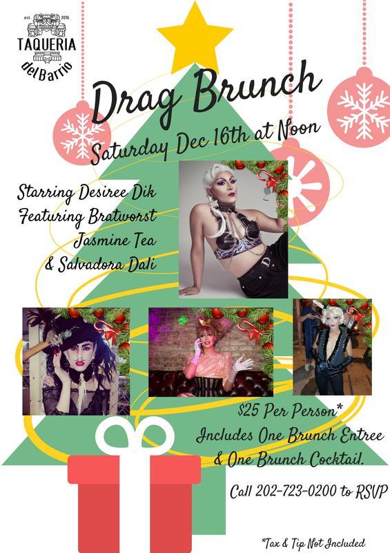 Drag Brunch 12/16