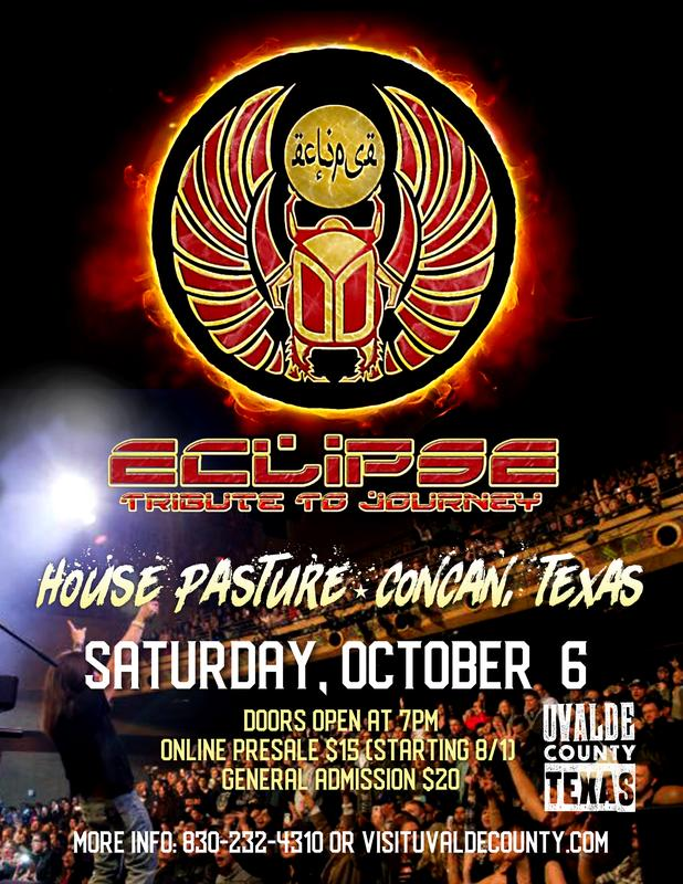 Eclipse - Tribute to Journey at House Pasture