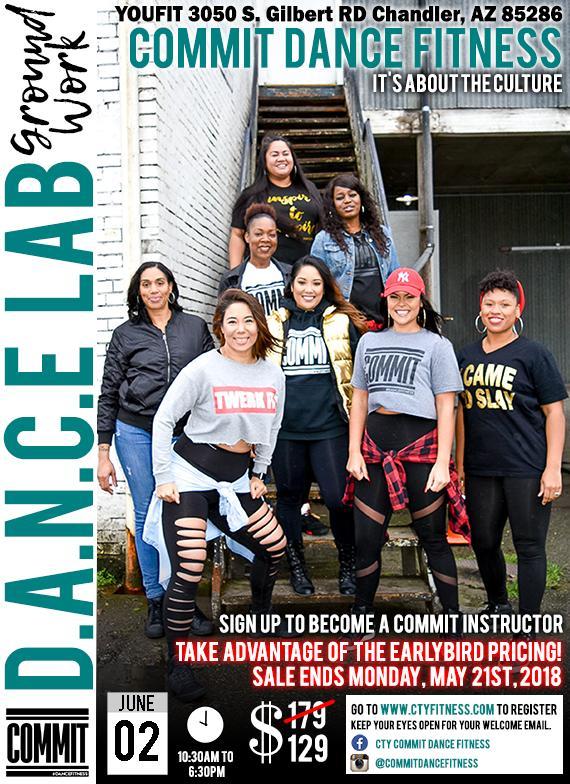 "D.A.N.C.E LAB ""GROUND WORK"" - CHANDLER, AZ 06/02/2018"