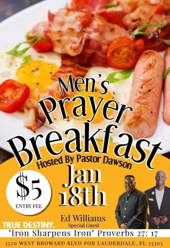Men of Faith Prayer Breakfast