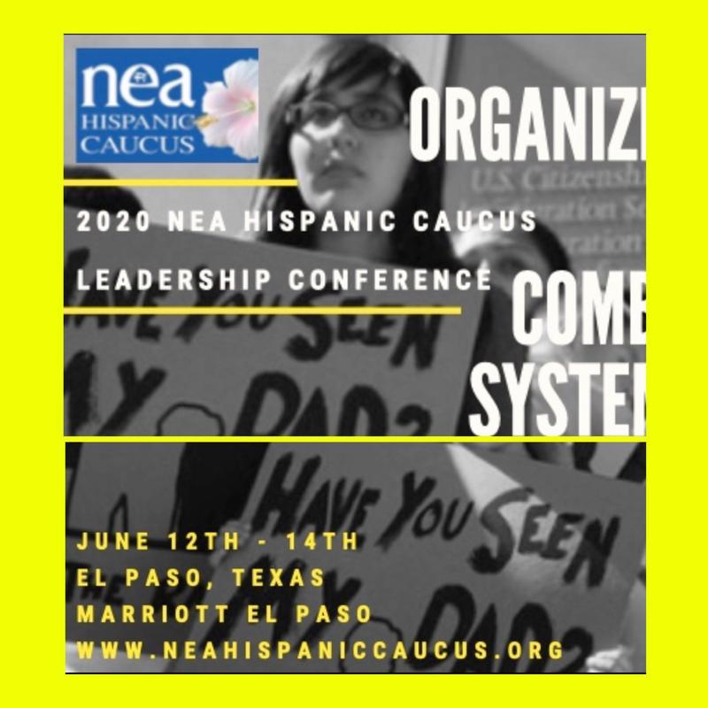 NEA Hispanic Caucus Leadership 2020