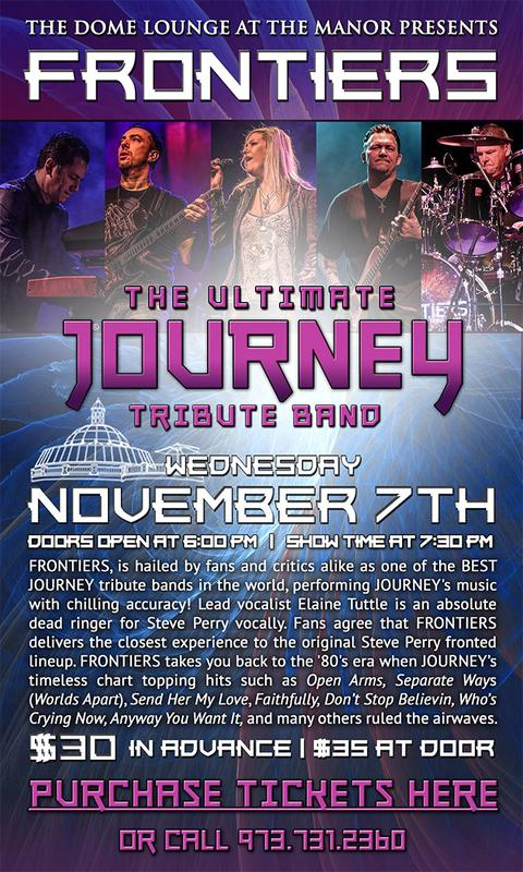 A Live Tribute to the Music of Journey