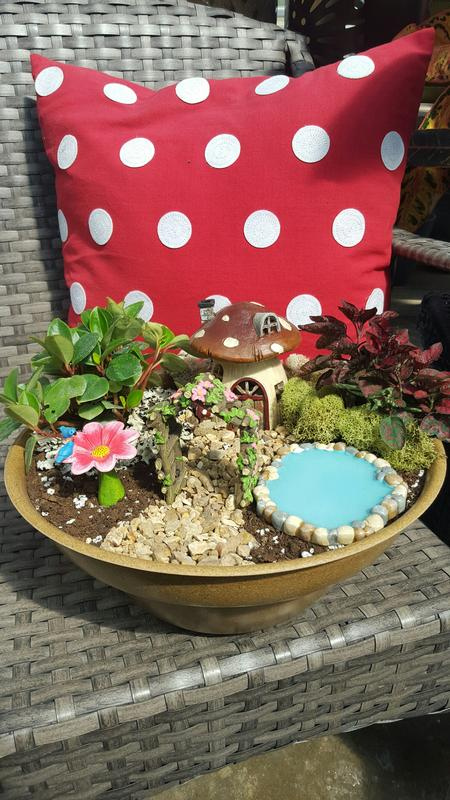 Fairy Garden Workshop & Wine