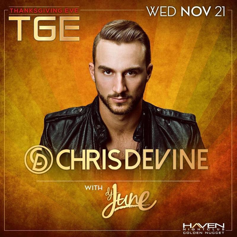 TGE Chris Devine @ Haven Nightclub AC Nov 21