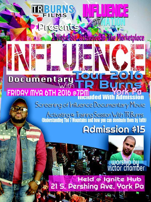 Influence Tour 2016