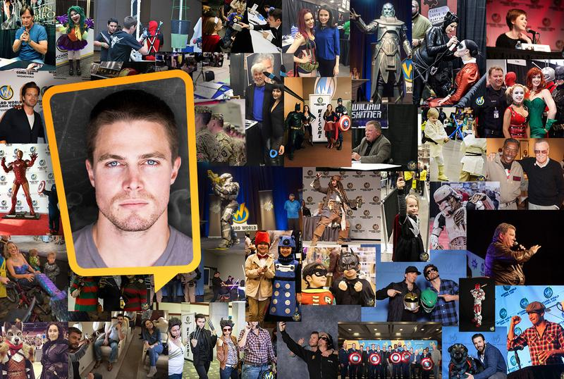 Stephen Amell VIP @ Wizard World NEW ORLEANS  Comic Con & Gaming 2017