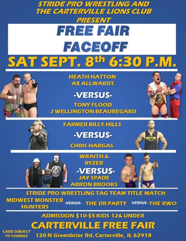 Carterville Lions Club Stride Pro Wrestling