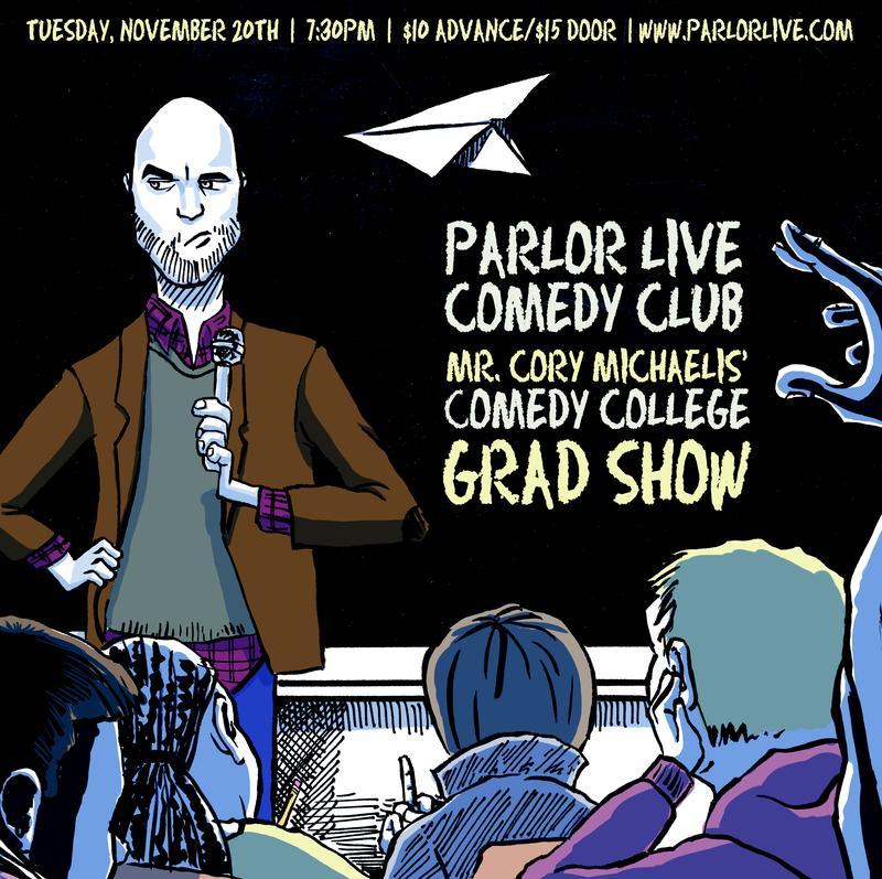 Everett Comedy College Graduation Show