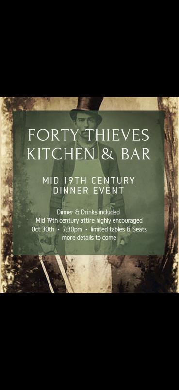 Forty Thieves Five Points Dinner