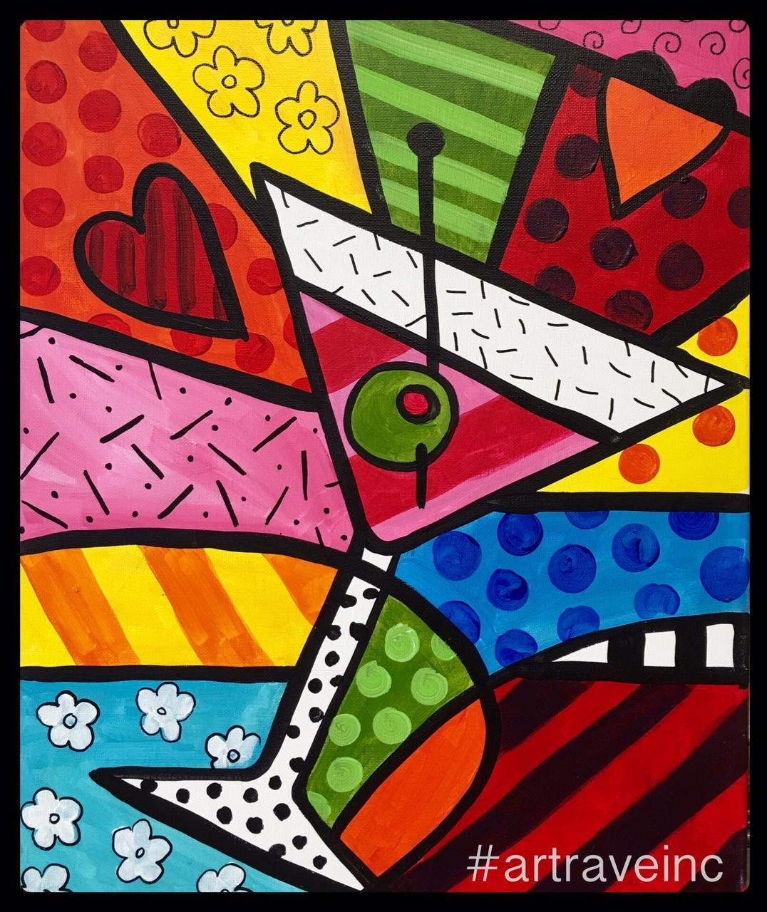 Britto pop art primo italian american cuisine tickets in for Art and appetite american painting culture and cuisine