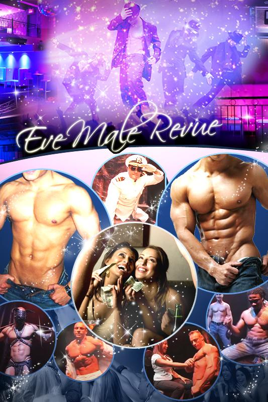 Eve Male Revue Private Party for NY, NJ & CT