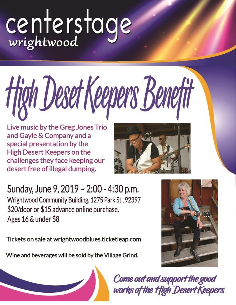 Music Show Benefiting High Desert Keepers Tickets in