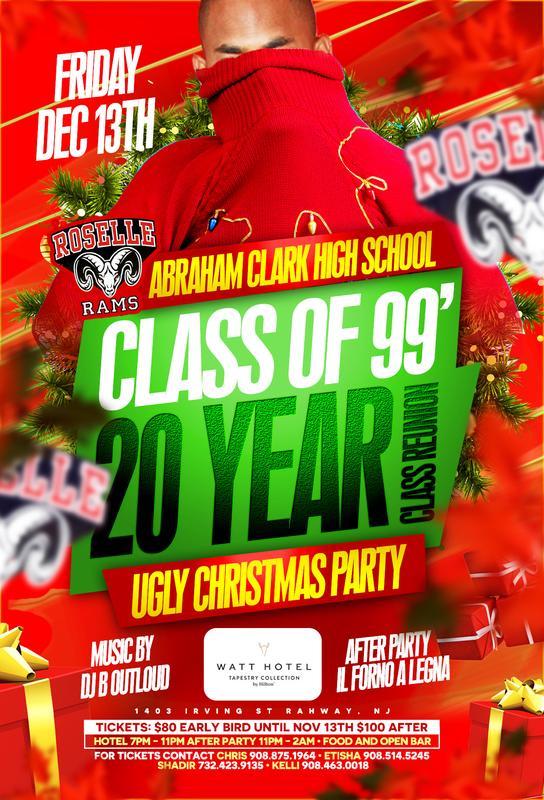 Abraham Clark High School Class of 99 Reunion