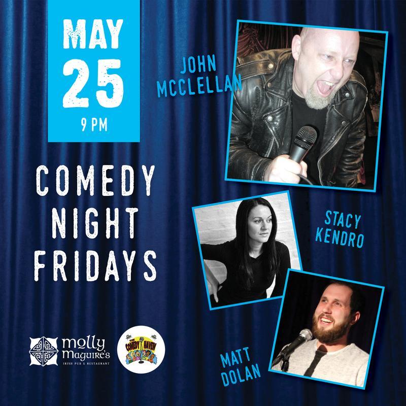 Comedy Night Fridays 5/25/2018
