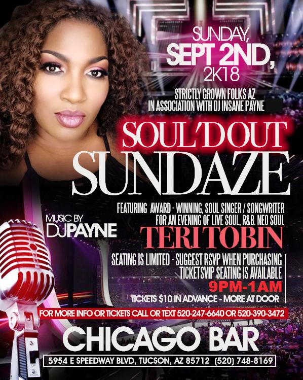 "SOUL'D OUT SUNDAZE ""Labor Day Weekend Edition"""