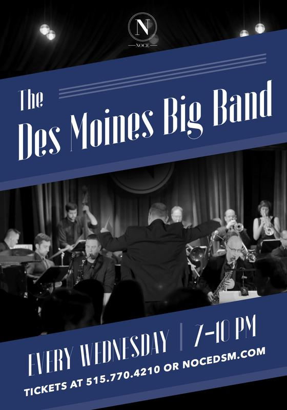 The Des Moines Big Band - A Night Of Swing!