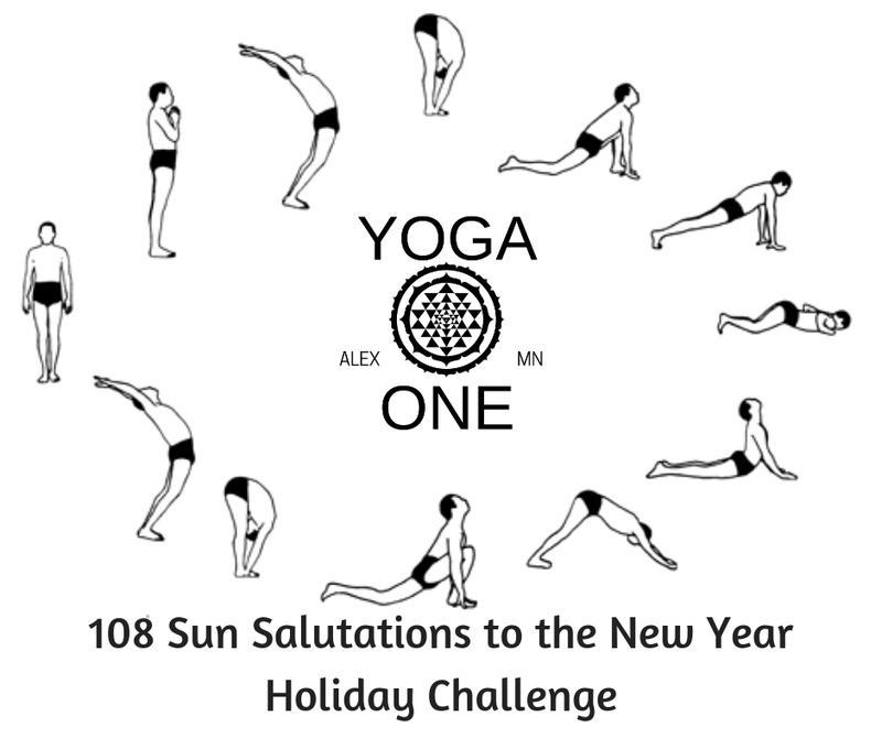 108 Sun Salutations Holiday Challenge