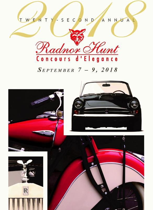 2018 Radnor Hunt Concours d'Elegance
