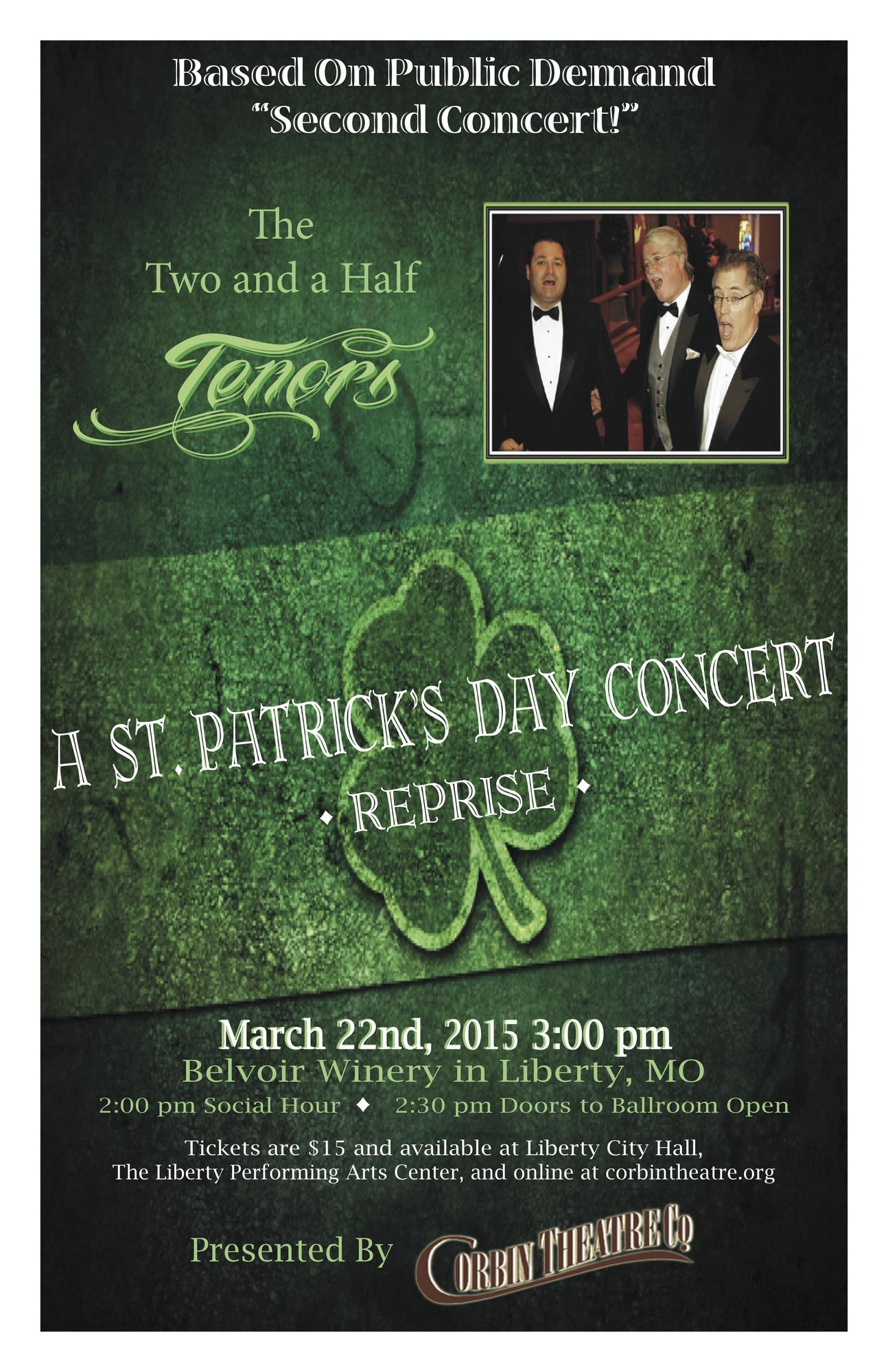Liberty (MO) United States  city photos : ... Patrick's Day Concert REPRISE!! Tickets in Liberty, MO, United States