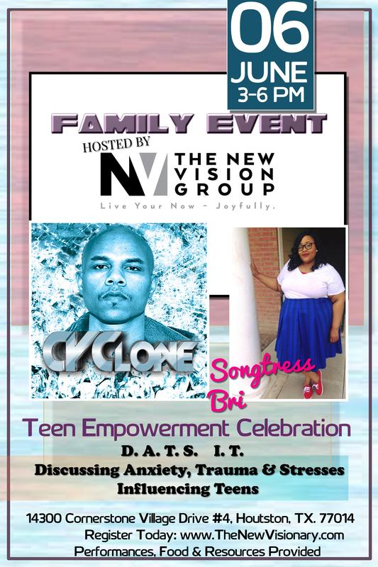 Teen Empowerment Celebration (D.A.T.S  I.T) Discussing Anxiety, Trauma & Stresses Influencing Teens