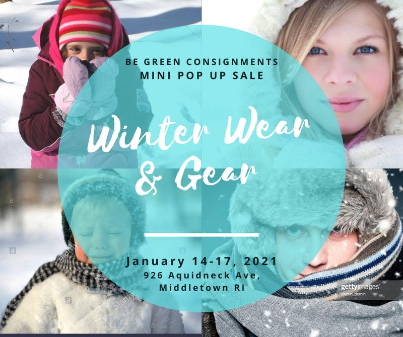 Saturday Pop Up Winter Wear 2021