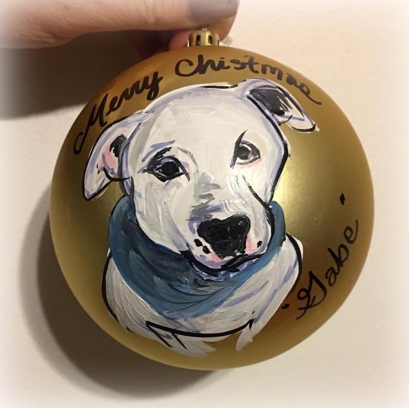Pet Painting Ornament Party!