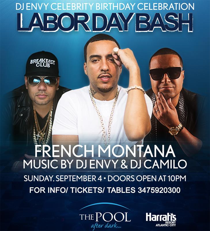 Labor Day Weekend 2016 Harrahs Pool Party