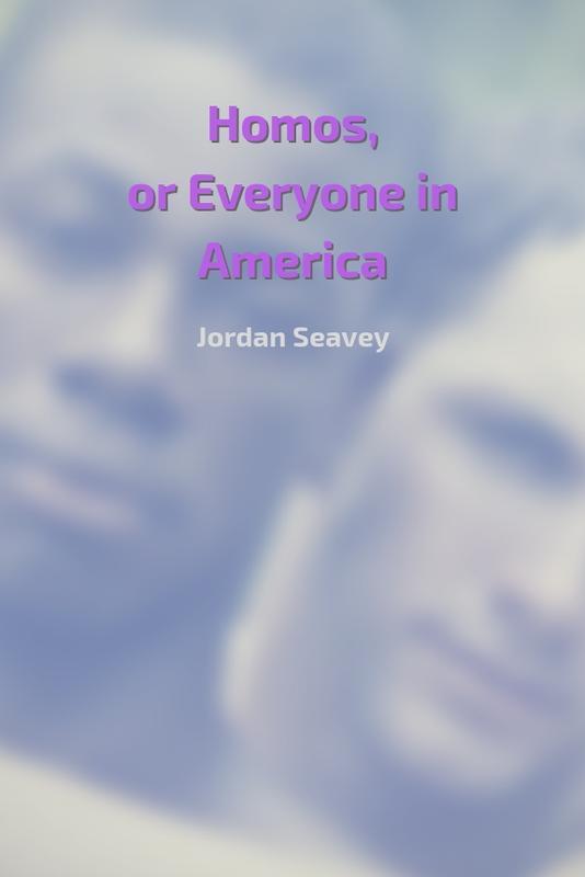 HOMOS, OR EVERYONE IN AMERICA by Jordan Seavey