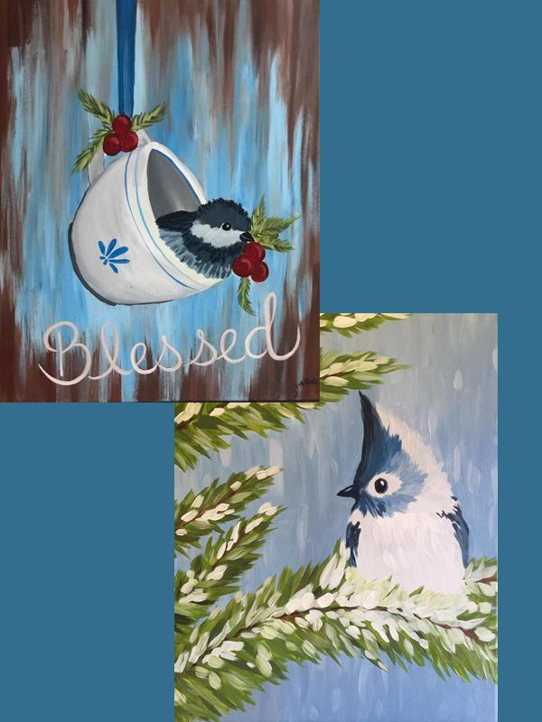 A Thirst For Art at DCMarina Club {Tea Cup or Winter Birdie}