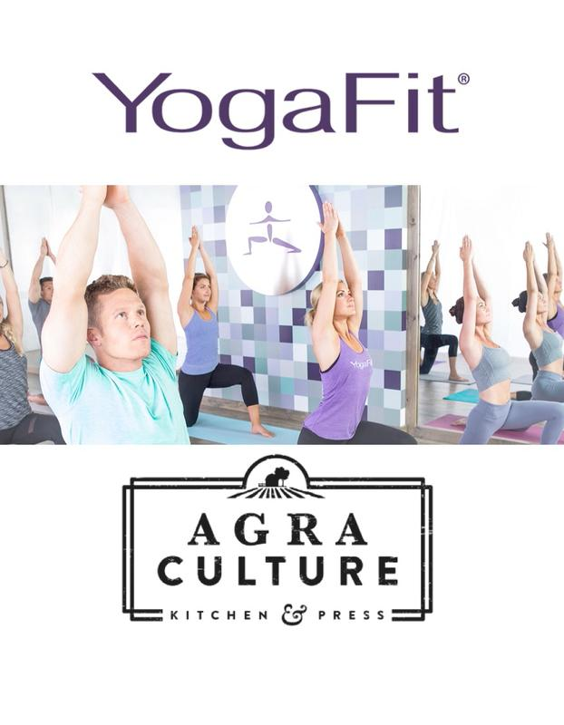 Great Gathering: YogaFit Class with Agra Culture