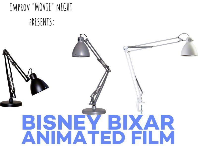 """Improv """"Movie"""" Night: Rhymes with""""Bisney Bixar"""" Animated Film"""
