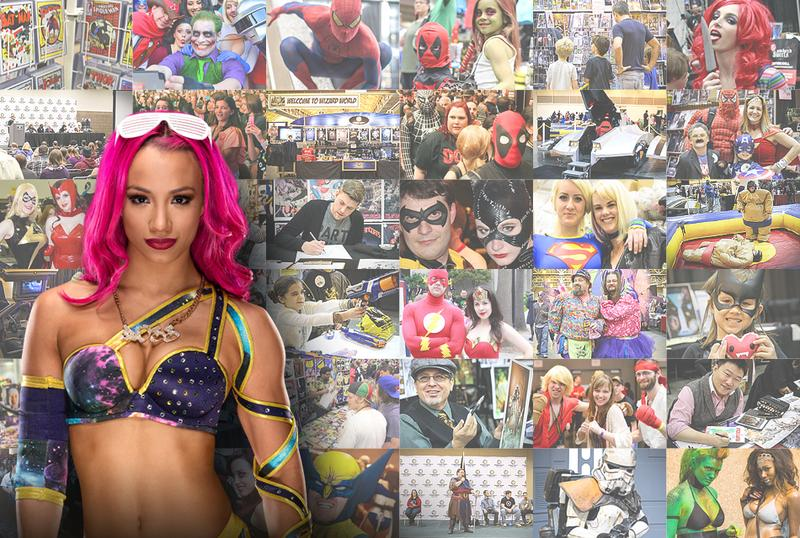 WWE® Superstar Sasha Banks™ VIP @ Wizard World Comic Con PHILADELPHIA 2016