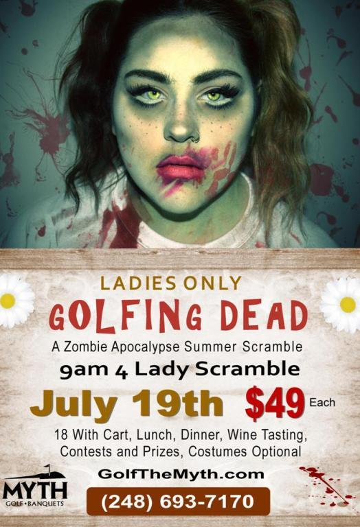 Lady Only Zombie Babe Classic Golf Tournament
