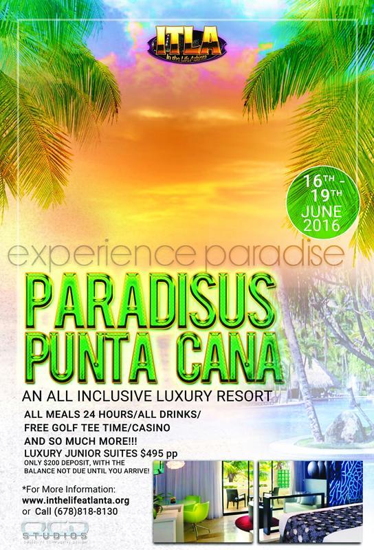 ITLA Presents PARADISE @ PARADISUS PUNTA CANA