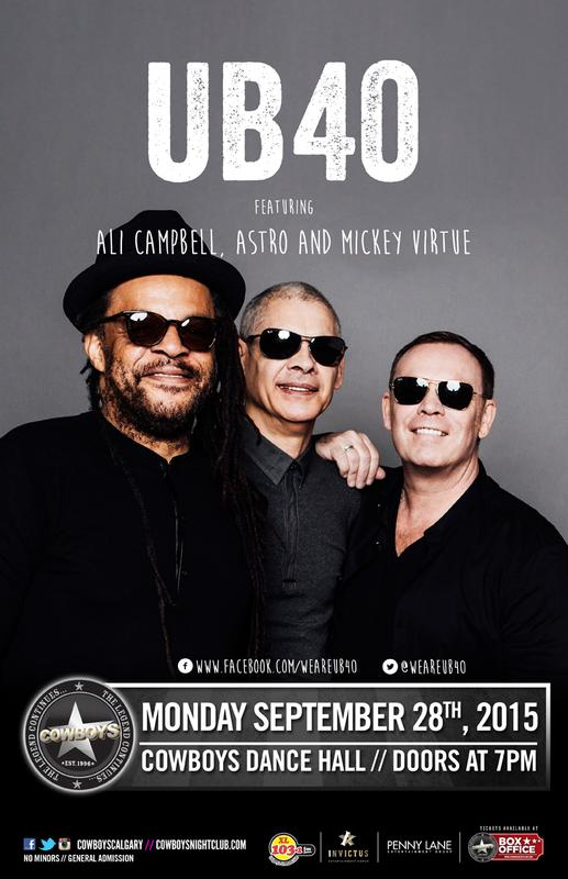 UB40 feat Ali Campbell, Astro, Mickey Virtue