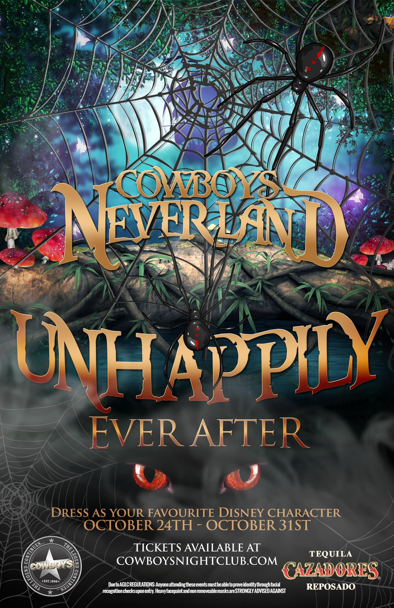 Unhappily Ever After Halloween 14 At Cowboys Neverland