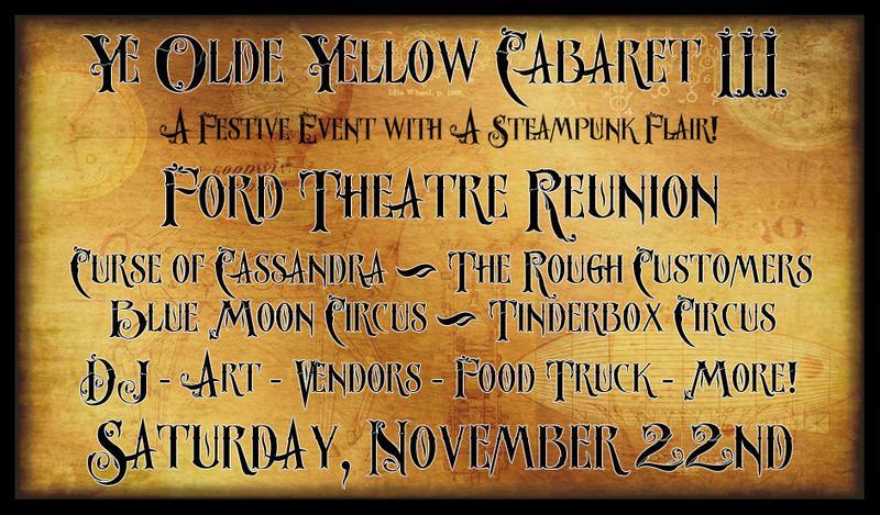 Ye Olde Yellow Cabaret III - November