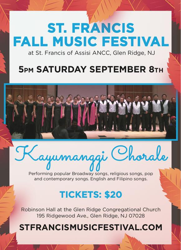St. Francis of Assisi Fall Music Festival