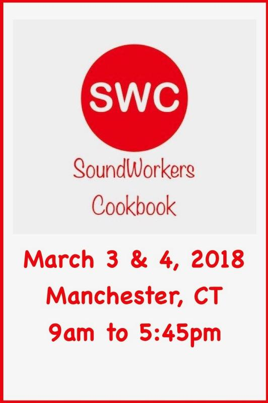Sound Workers Cookbook: March 2018