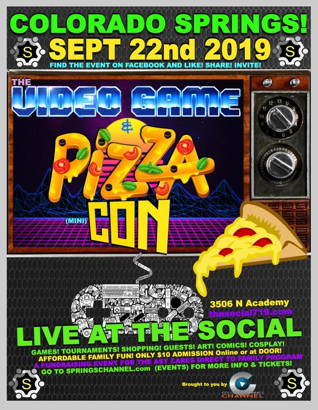 The VIDEOGAME & PIZZA (Mini) CON