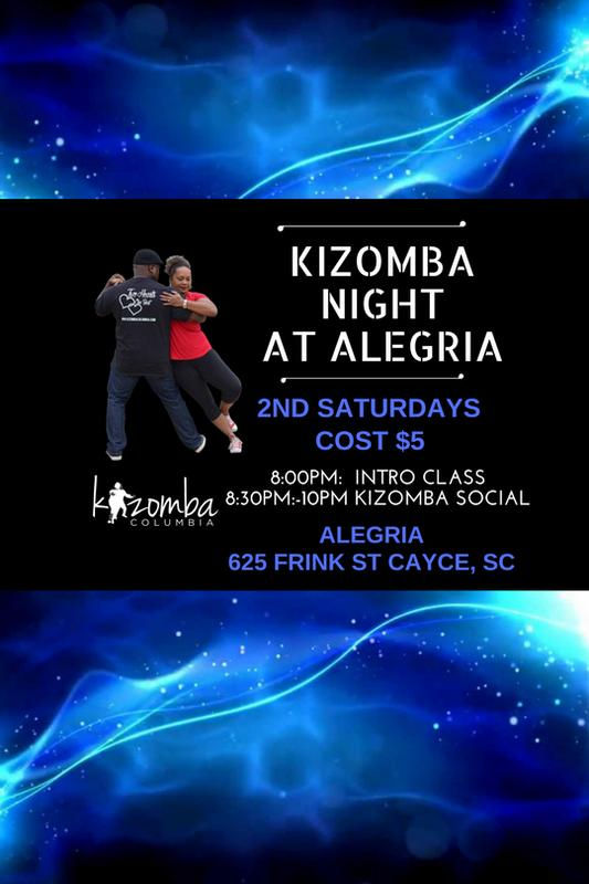 Kizomba Nights at Alegria