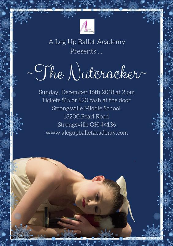 The Nutcracker Ballet: Presented by A Leg Up Ballet Academy