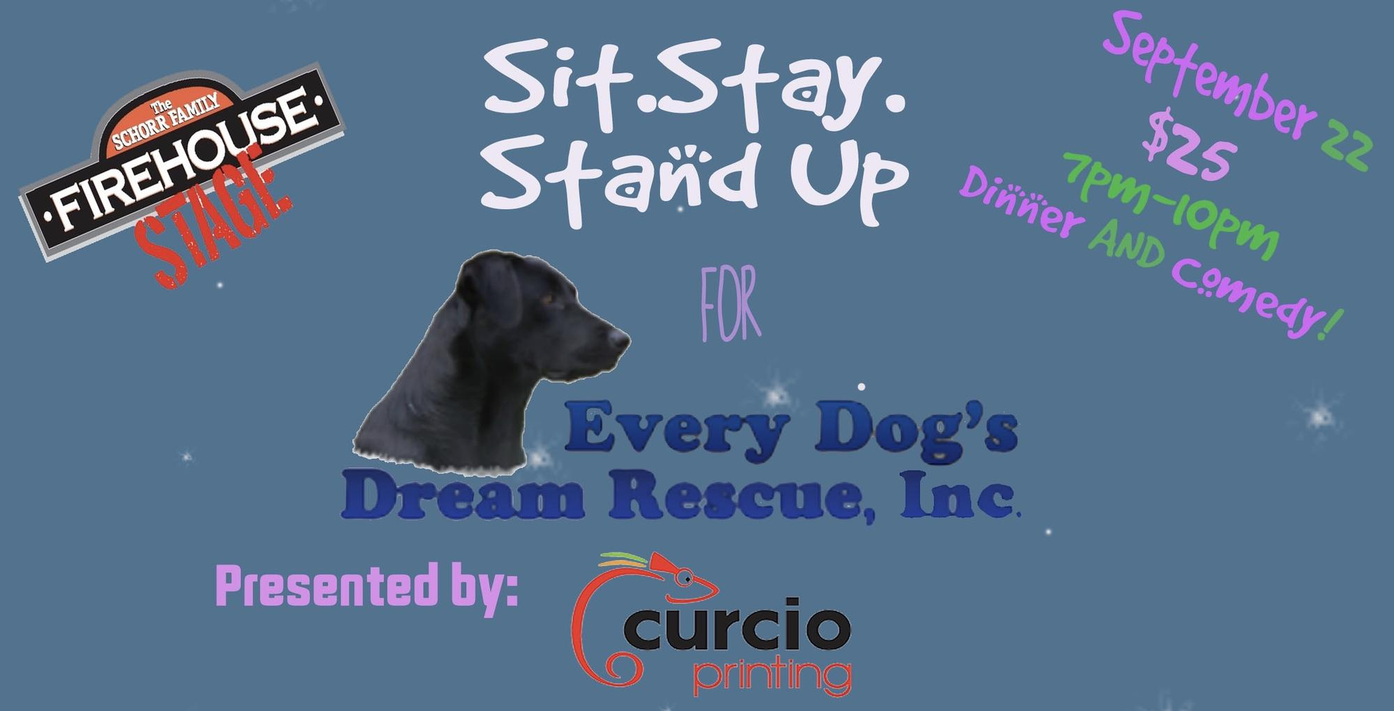 sit stay stand up for every dog s dream rescue tickets in johnson