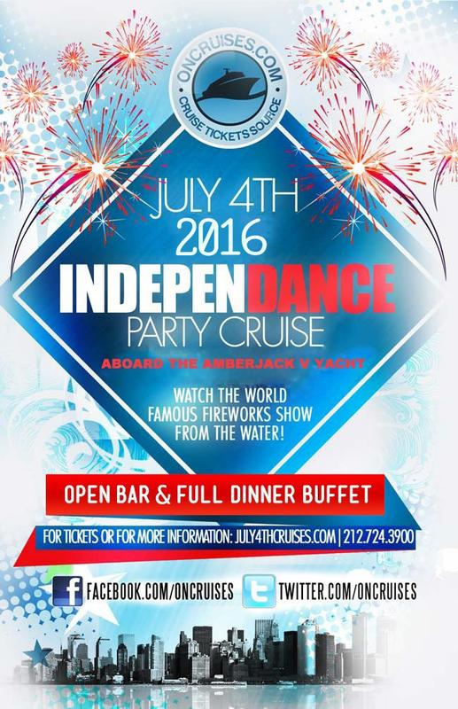 2016 IndepenDANCE Party Cruise aboard the Amberjack V Yacht