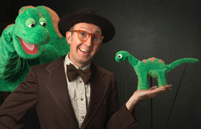 The Dinosaur Show by Mesner Puppet Theater