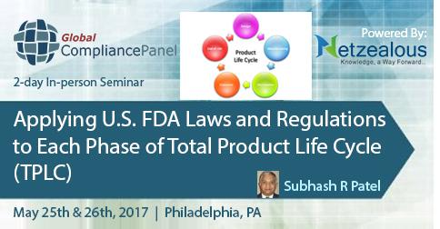 Applying U.S. FDA Laws and Regulations to Each Phase of TPLC