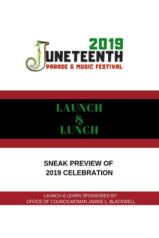 2019 Juneteenth Launch & Lunch