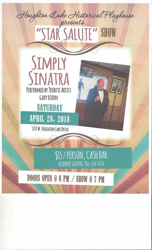 Simply Sinatra Performed by Tribute Artist Gary Dixon